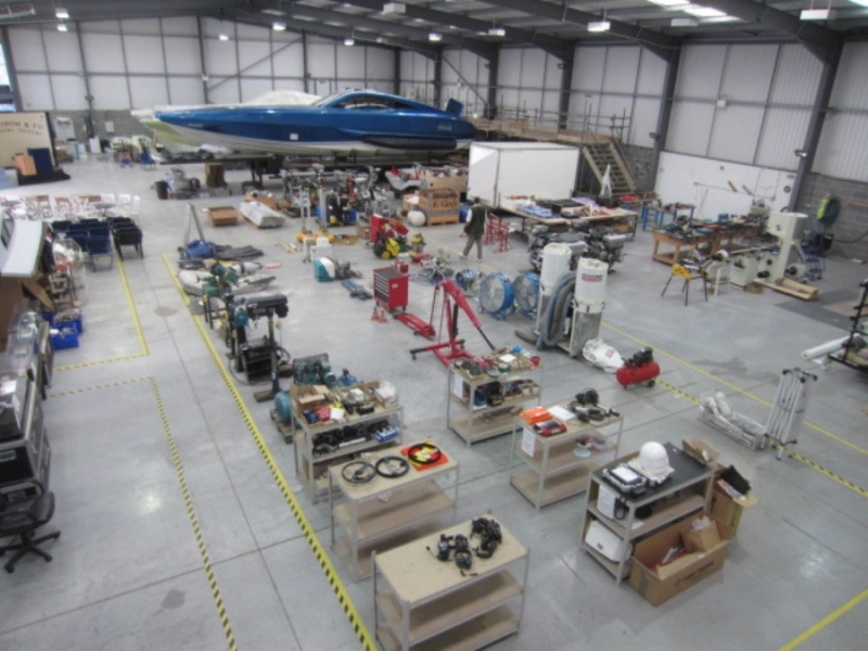 XSMG Boat Builders - G J Wisdom Commercial Auctioneers (Bexley, London)