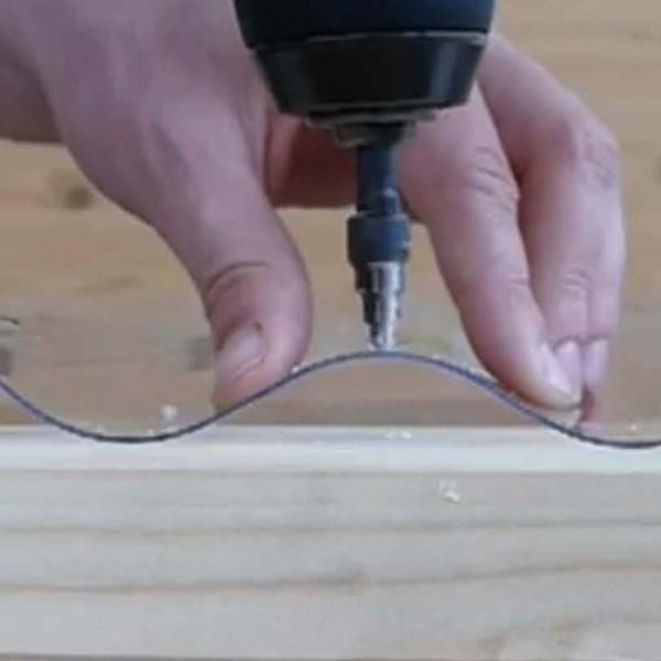 Kegelbohrer für PVC Dachplatten