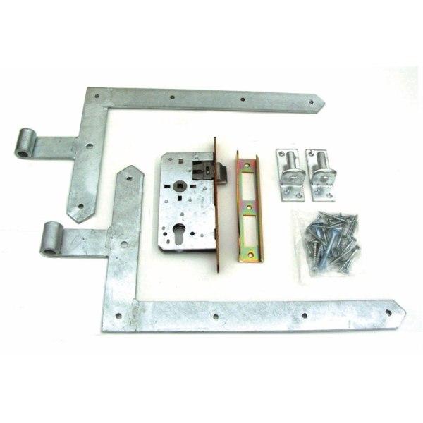 Türbeschlag schwer mit Winkelbändern 63012