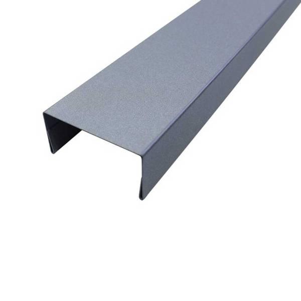 Metall-Abdeckleiste-stahlmetallic
