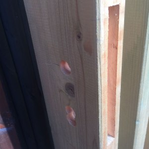 Schlossausfäsung an Tür-und Torrahmen