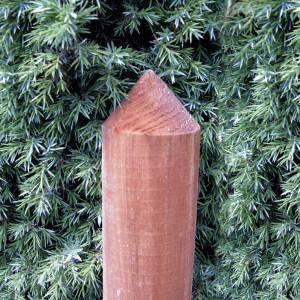 Palisaden-Zaunlatte-halbrund