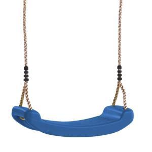 Schaukelsitz aus Kunststoff blau