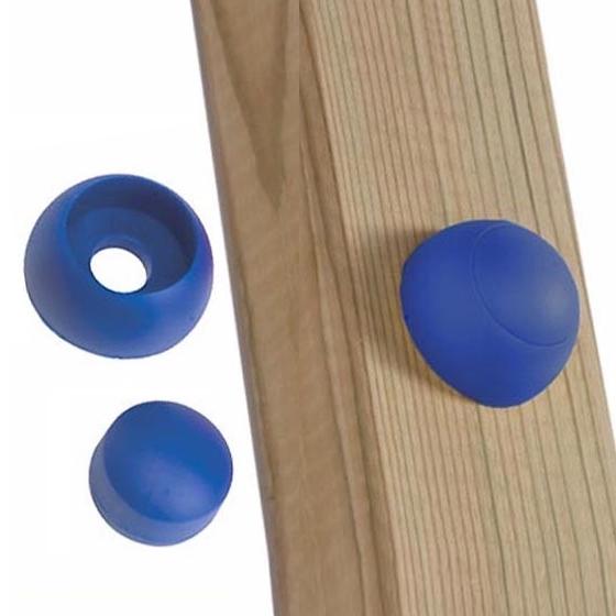 Schraubenabdeckung für Spielturm blau