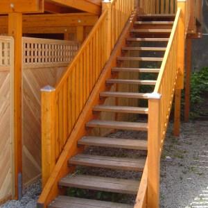 Treppe Außenbereich selber bauen
