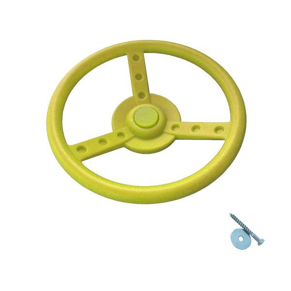 Lenkrad-gelb