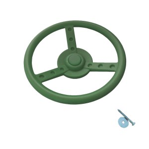 Lenkrad-grün