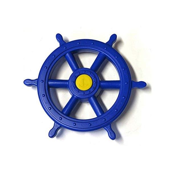 Piraten-Steuerrad-blau
