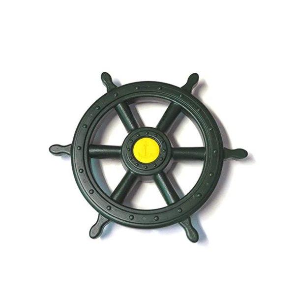 Piraten-Steuerrad-grün