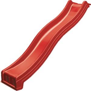 Wellenrutsche rot