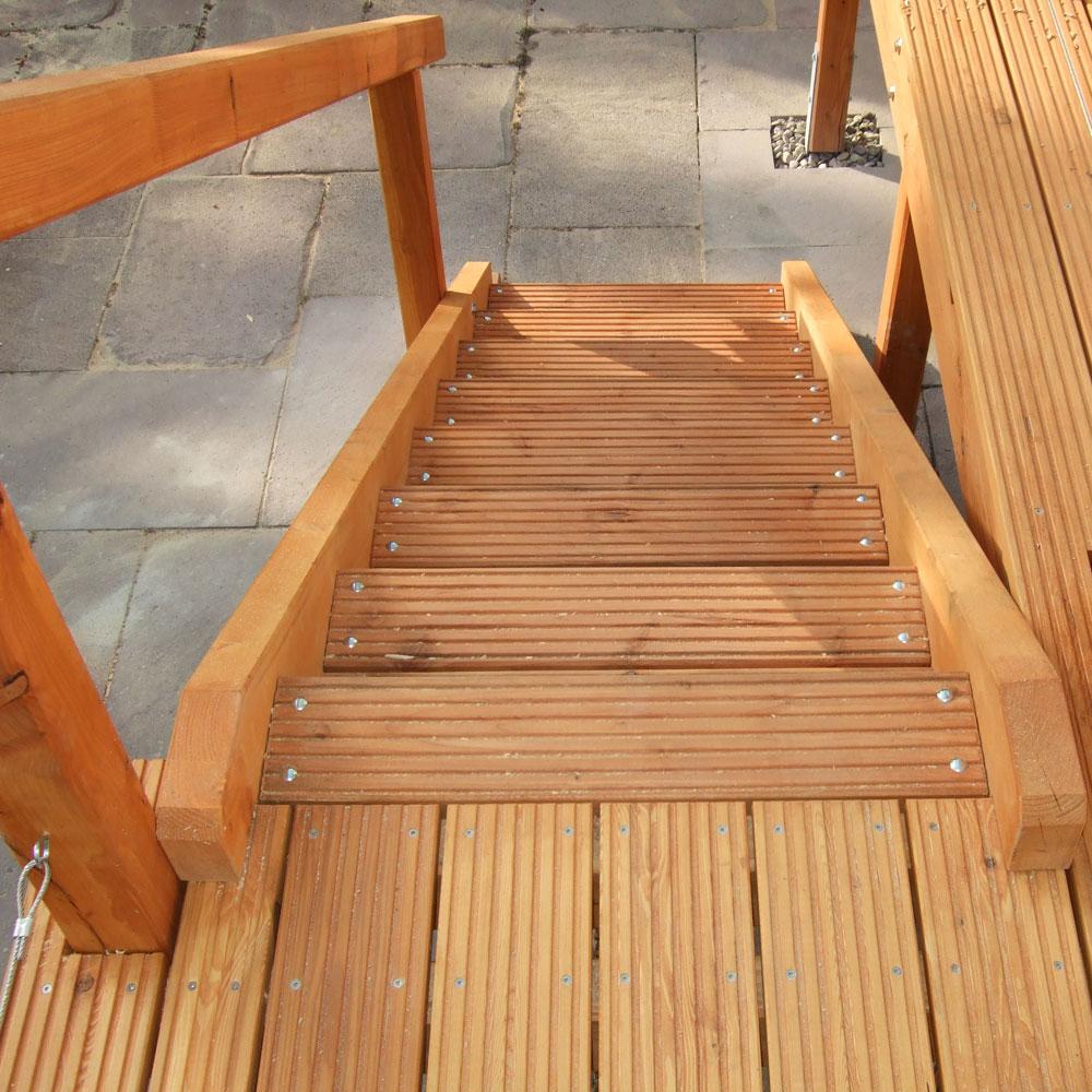Berühmt Outdoor-Treppe - Einfach selber bauen mit unseren Empfehlungen HK22