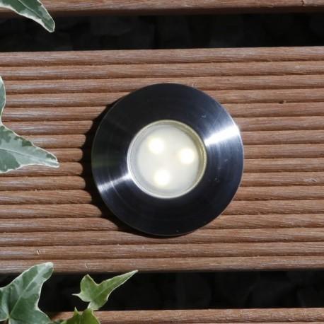 LED Bodeneinbauleuchte Birch warm weiss