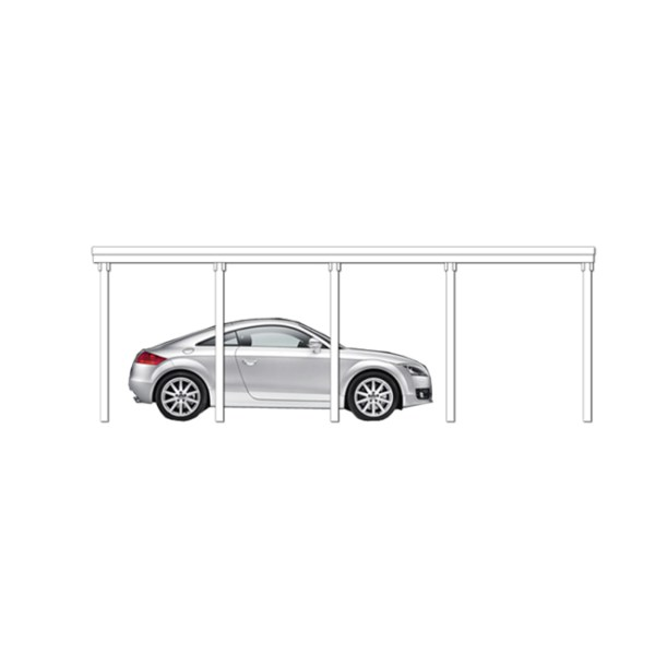 Carport-Hannover Typ 2