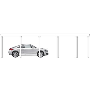 Carport Hannover Typ 4
