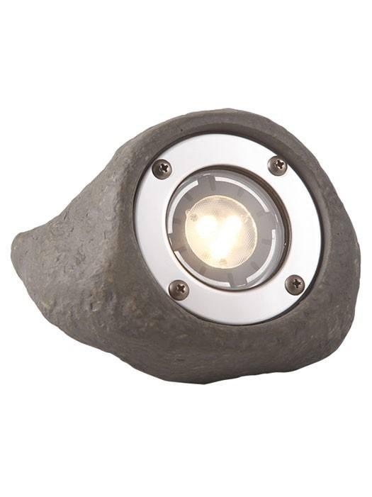 LED Strahler Lapis in Steinoptik