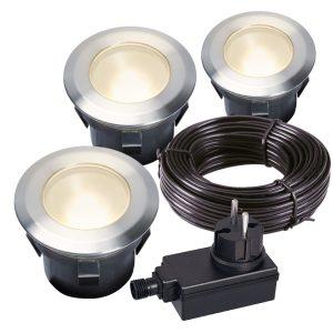 LED Bodeneinbauleuchten-Set Larch