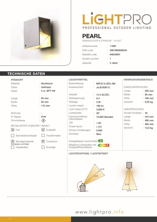 Lightpro-LED-Strahler-Pearl
