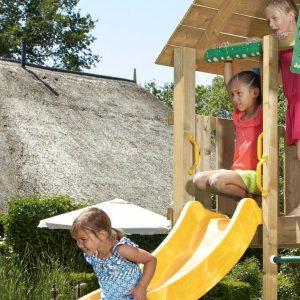 Spielturm-Cabin-Stelzenhaus aus Holz