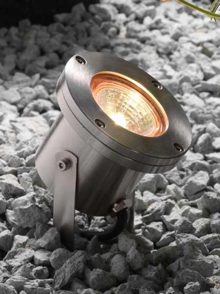 Unterwassser LED Strahler Arigo verbaut