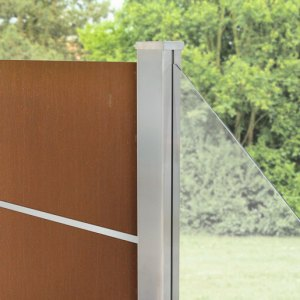 System Board XL Aluminium Zaun