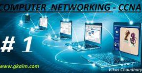 Computer Networking-CCNA #1