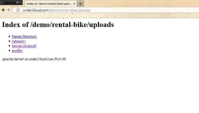 PHP Scripts Mall Rental Bike Script 2.0.3 has directory traversal-CVE-2019-7434