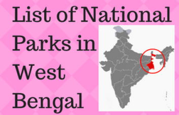 GK> List of National Parks in West Bengal [pdf]