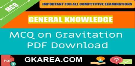 MCQ]> Gravitation - Questions Answers