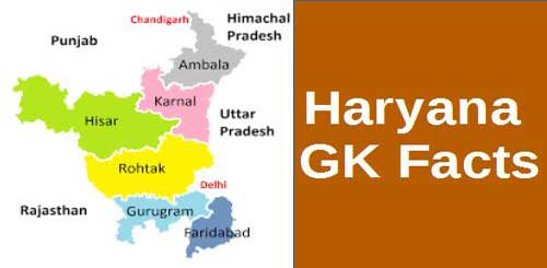 [GK] Important Points + Facts of Haryana
