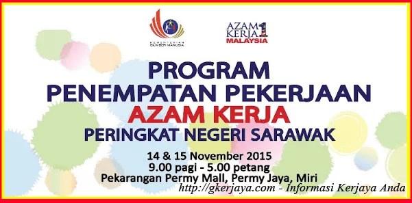 Karnival Kerjaya Azam 2015 Negeri Sarawak
