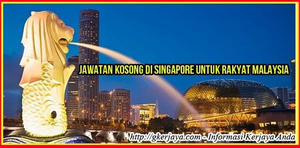 Job Vacancy in Singapore