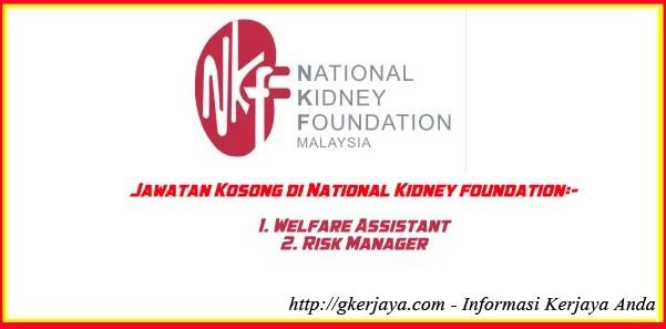 National Kidney Foundation Malaysia Jobs Vacancies