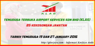 Open Interview KL AirPort Service