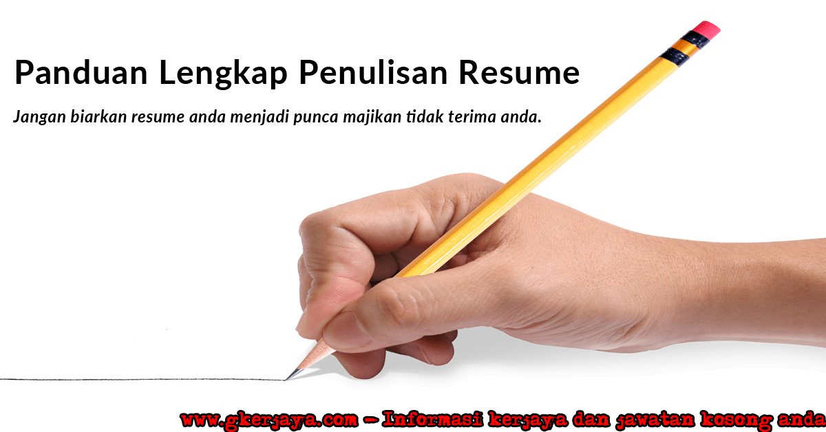 Cara Buat Resume Contoh Resume Lengkap Terbaik