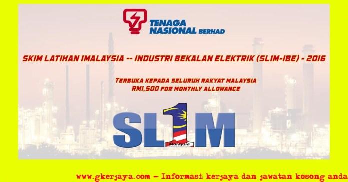 Skim Latihan 1 Malaysia Industri Bekalan Elektrik Sl1M