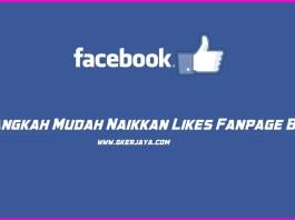 5 Langkah Mudah Naikkan Likes Fanpage Baru