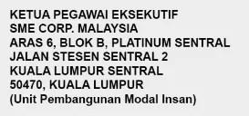 jawatan kosong sme corp malaysia