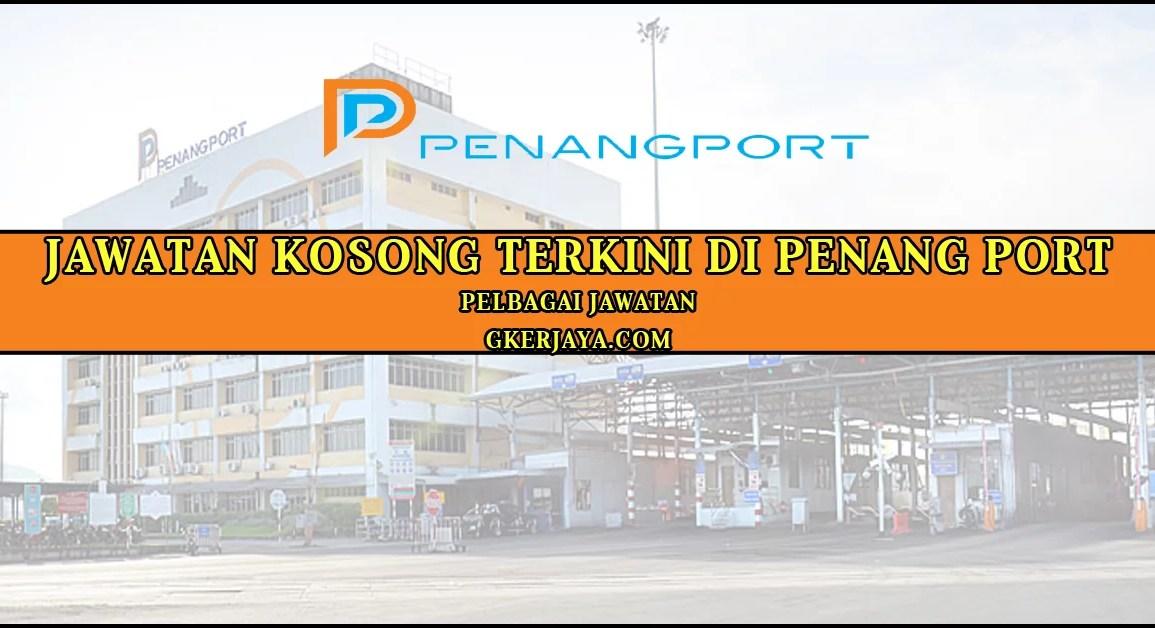 Kerja Kosong Terkini Penang Port 2016