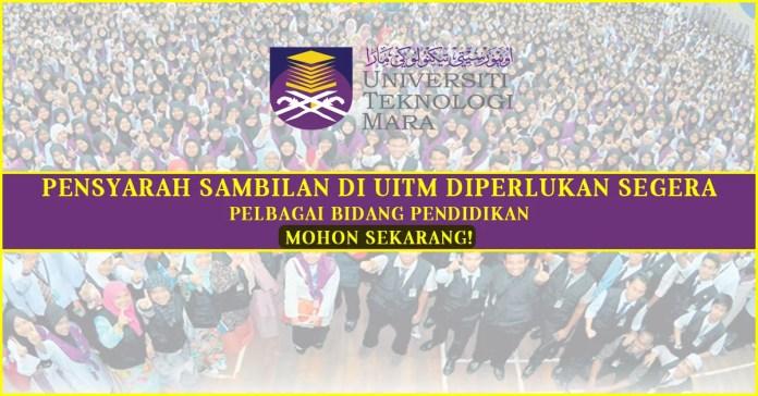 Pensyarah Sambilan di UITM 2016
