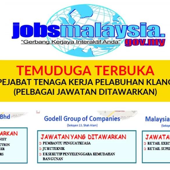 Temuduga Terbuka di Pusat Jobs Malaysia