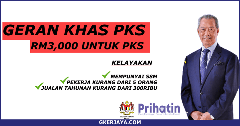 Geran Khas Prihatin RM3000