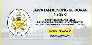 Iklan Jawatan Kosong Kerajaan Negeri Terengganu