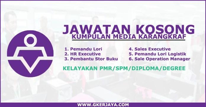 Iklan Jawatan Kosong Media KarangKraf SDN BHD