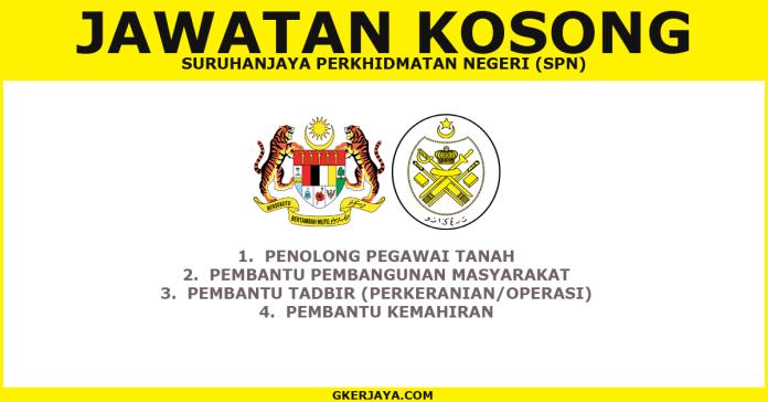 Iklan Jawatan Kosong terkini SPN Terengganu
