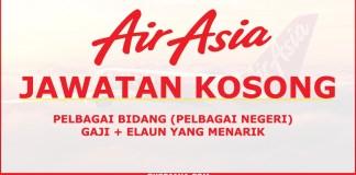 Iklan Jawatan Kosong terkini di AirAsia Berhad
