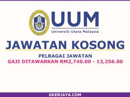Iklan Kerja kosong Universiti Utara Malaysia