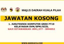 Iklan jawatan Kosong Majlis Daerah Kuala Pilah