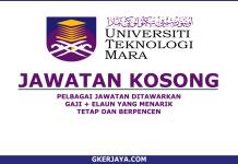 Iklan jawatan Kosong UiTM Sabah