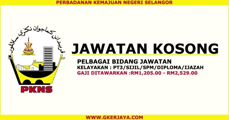 Iklan jawatan kosong PKNS