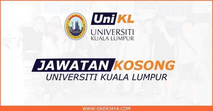 Iklan jawatan kosong Universiti Kuala Lumpur